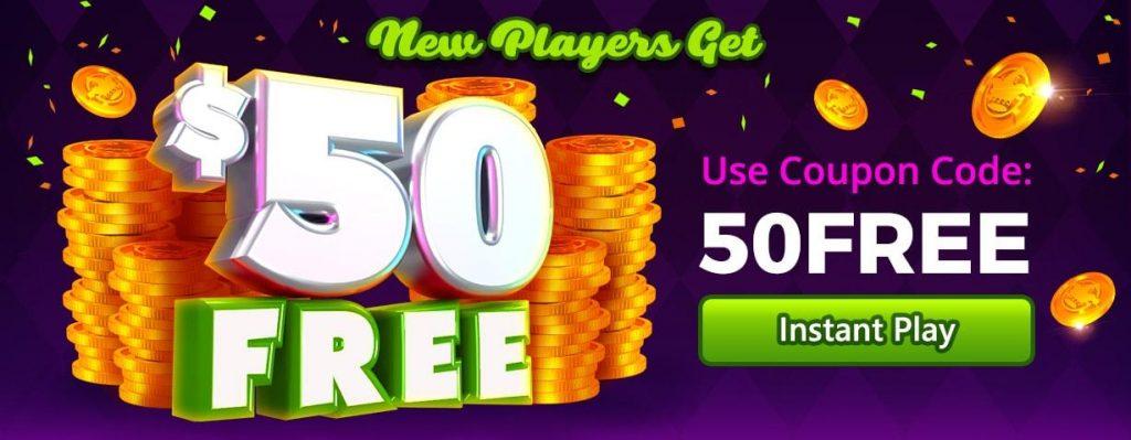 $50 Free No Deposit Bonus