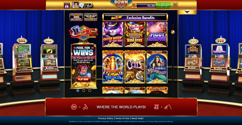 Doubledown Casino Cons