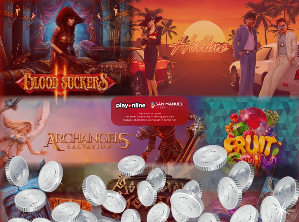 San Manuel Online Casino Slots