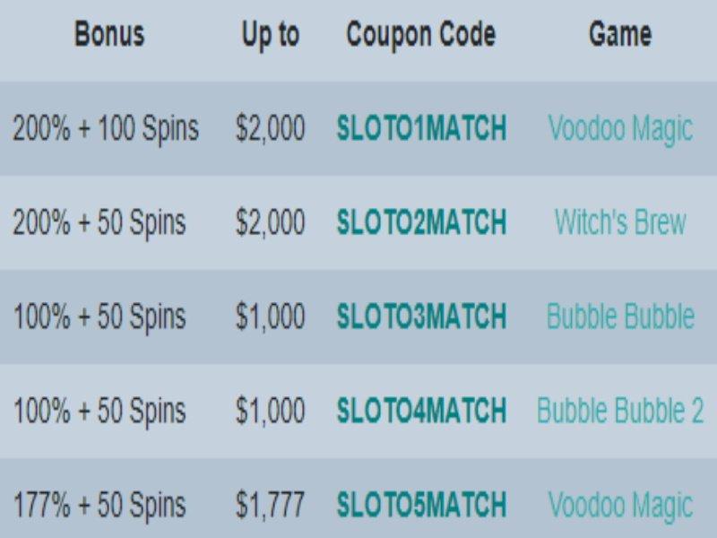 A Quick Slotocash Casino Bonus