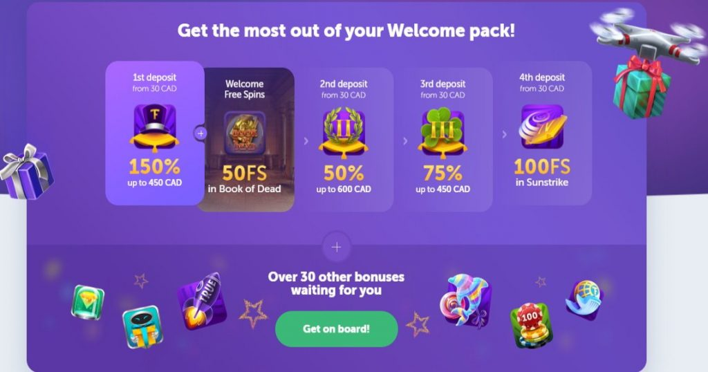 Trueflip Casino Review Bonus