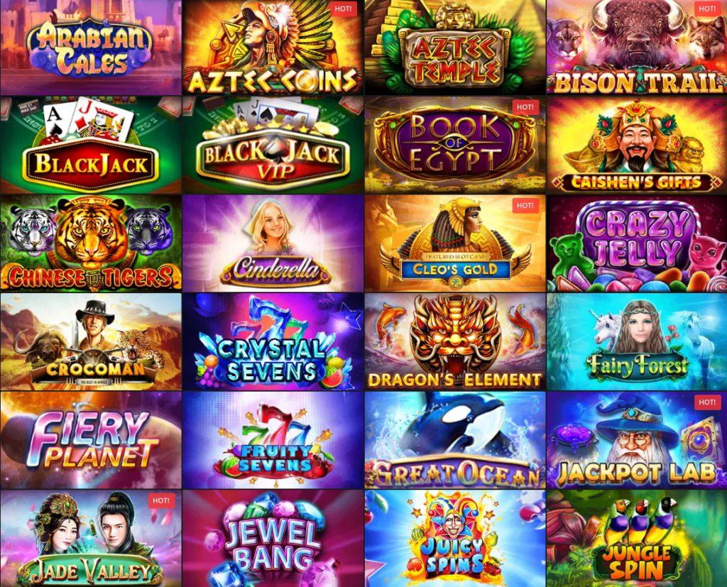 Golden Crown Casino All Games